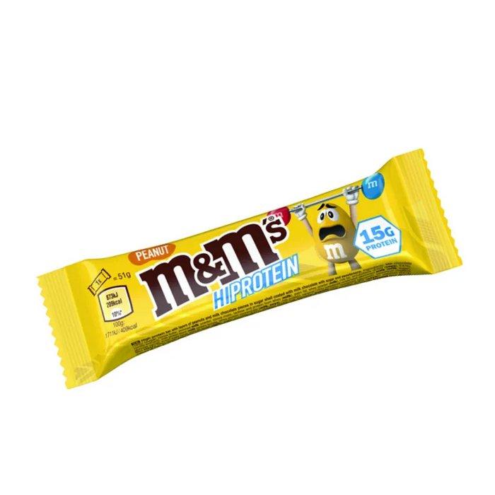 M&M Hi Protein 51g Riegel